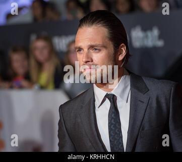 """Schauspieler Sebastian Stan besucht die Weltpremiere für """"Mars"""" an Tag zwei des Toronto International Film Festival - Stockfoto"""