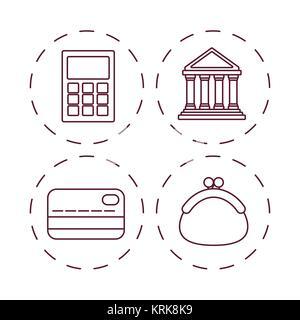 Kosteneinsparungen design - Stockfoto