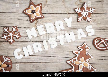weihnachtlicher grauer holz hintergrund mit deko stockfoto. Black Bedroom Furniture Sets. Home Design Ideas