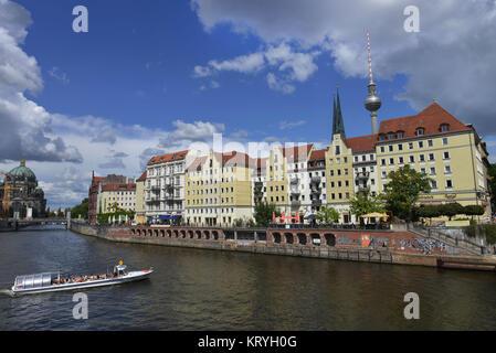 Nikolaiviertel, Berlin, Deutschland, Deutschland - Stockfoto