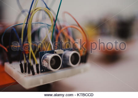Kleine Elektronik Engineering Projekte von Studenten gemacht ...