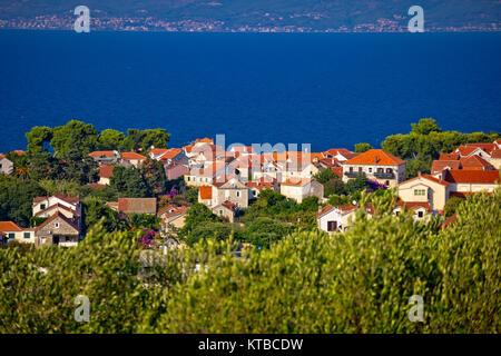 Stadt von Sutivan Coast View - Stockfoto