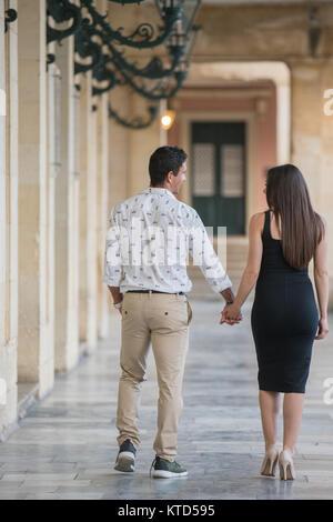 Touristische verliebtes Paar - Stockfoto