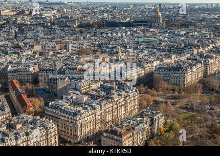 Schöne Sicht auf Paris. - Stockfoto