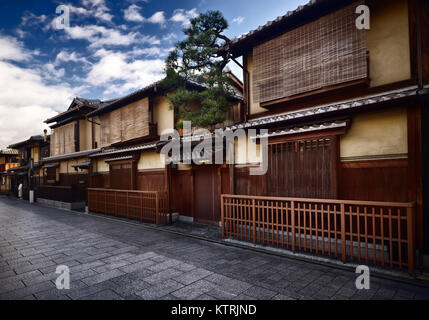 Gion teehaus kyoto japan stockfoto bild 27475303 alamy for Traditionelles japan