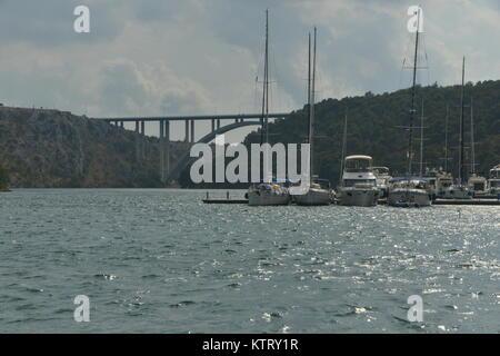 Szenen aus dem europäischen Land von Kroatien - Stockfoto