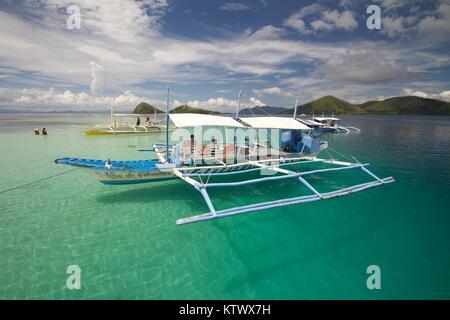 Coron, Philippinen - Stockfoto