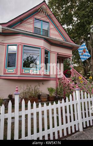 Ein Haus auf dem Capitol Hill, Seattle, Washington, USA - Stockfoto