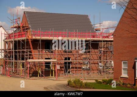 neue haus h user bauen ger ste d cher stockfoto bild 62701498 alamy. Black Bedroom Furniture Sets. Home Design Ideas