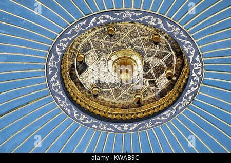 Aus dem Takkeci Ibrahim Aga Moschee, die außerhalb der Stadtmauern liegt Byzantinischen land Detail, an der alten - Stockfoto