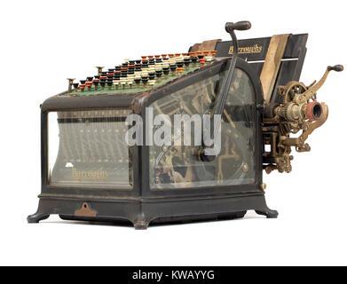 Im frühen 20. Jahrhundert Burroughs Maschine hinzufügen ca: 1911-1913 - Stockfoto