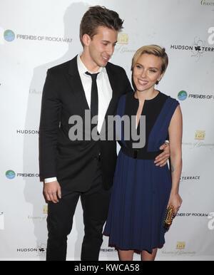 NEW YORK, NEW YORK - November 18: Jäger Johansson und Scarlett Johansson nehmen an der 2. jährlichen Meister von - Stockfoto