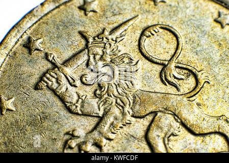 10 Euro Cent Münze Finnland 1999 Stockfoto Bild 41444230 Alamy