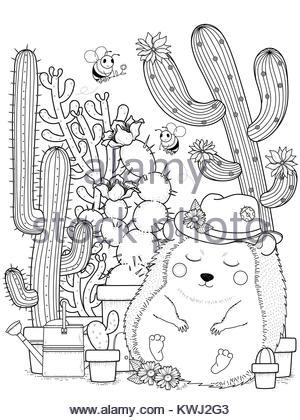 Ausgezeichnet Kaktus Malvorlagen Zeitgenössisch - Ideen färben ...