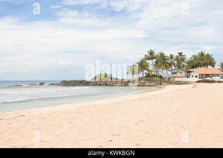 Asien - Sri Lanka - induruwa - einige schöne Häuser am Strand - Stockfoto