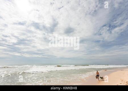 Asien - Sri Lanka - induruwa - Die grosse Wildnis der Strand - Stockfoto