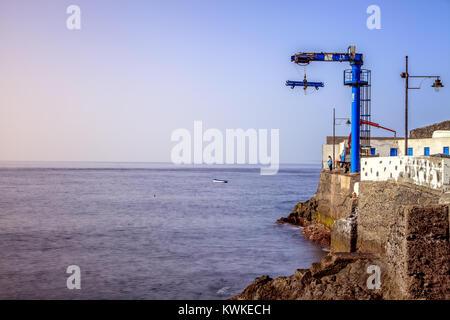 Puerto de Santiago, Los Gigantes, Teneriffa, Spanien - Stockfoto