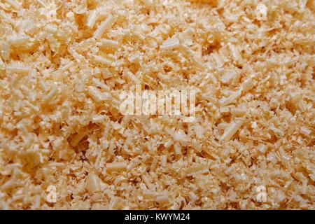 Holzspäne Hintergrund Textur Nahaufnahme Bild - Stockfoto