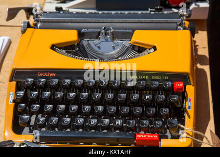 Tragbare Schreibmaschine - Stockfoto
