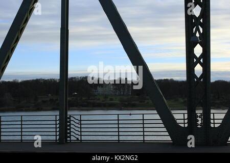 Die Havel und Skyline in Deutschland - Stockfoto