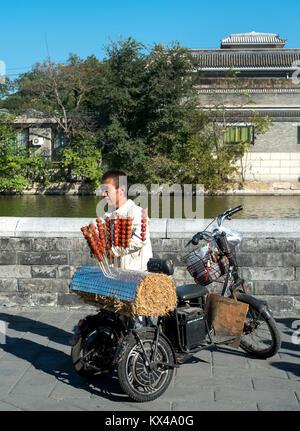Peking, China: 12. Oktober 2012. Peking reisen. Die Verbotene Stadt - Stockfoto