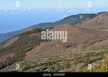 Berglandschaft in del Teide National Park, Teneriffa - Stockfoto
