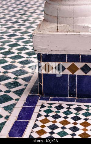 Marokkanische Fliesen - Stockfoto