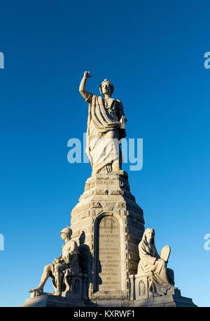 Die nationalen Denkmal für die Väter, die früher als Pilgrim Monument bekannt, erinnert an die Mayflower Pilger, - Stockfoto