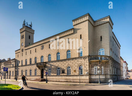 Staatsarchiv, dem ehemaligen Rathaus, neo-renaissance Stil, erbaut 1848, Rynek in Radom, Masowien, Polen - Stockfoto