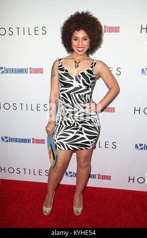 Premiere Entertainment Studios Motion Pictures' 'Feinde' Mit: Freude Villa Wo: Beverly Hills, Kalifornien, USA, - Stockfoto