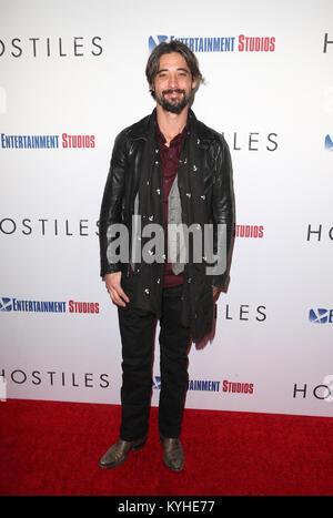 Premiere Entertainment Studios Motion Pictures' 'Feinde' Mit: Ryan Bingham Wo: Beverly Hills, Kalifornien, USA, - Stockfoto