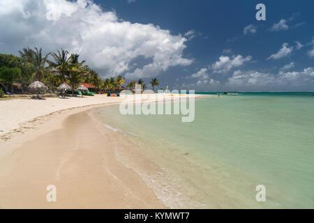 Mourouk Beach, Port Sud-Est, Insel Rodrigues, Mauritius, Afrika, | Mourouk Beach, Port Sud-Est, Insel Rodrigues, - Stockfoto