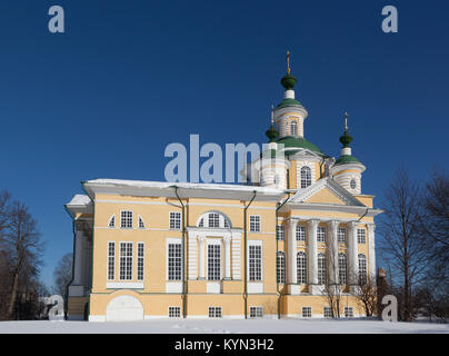 Die Kathedrale der Mariä Himmelfahrt in der Stadt Totma, Vologda Region, Russland - Stockfoto