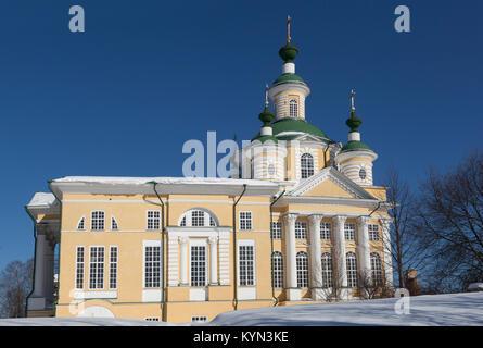 Die Kathedrale der Mariä Himmelfahrt in der Stadt Totma Vologda Region, Russland - Stockfoto