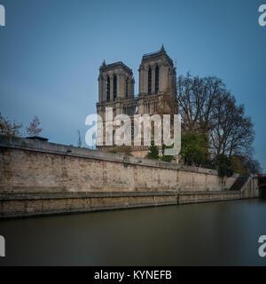 Cathédrale Notre-Dame de Paris, Notre Dame de Paris, Paris, Frankreich - Stockfoto