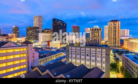 New Orleans, Louisiana, USA Skyline - Stockfoto