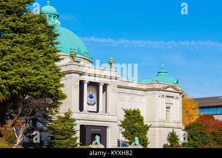 Tokyo National Museum in Tokio beherbergt die größte Sammlung des nationalen Kulturguts und wichtige kulturelle - Stockfoto