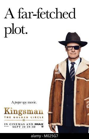 Erscheinungsdatum: September 22, 2017 Title: Kingsman: Der Golden Circle Studio: Twentieth Century Fox Regie: Matthew - Stockfoto