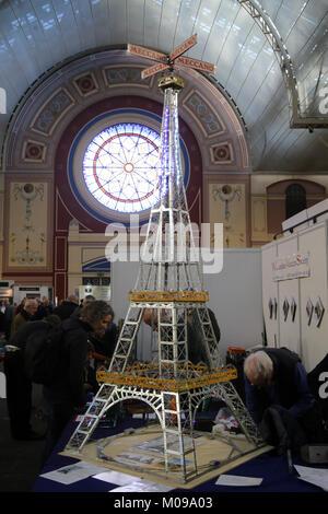 London, Großbritannien. 19 Jan, 2018. Alexandra Palace. London Model Engineering Ausstellung erinnert an den 175. - Stockfoto