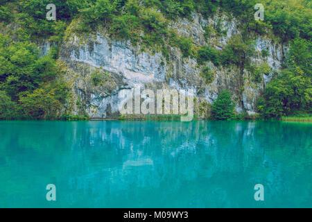Kroatisch, Nationalpark Plitvicer Seen, 2016 Reisen Foto, die Natur und die frische Luft. - Stockfoto