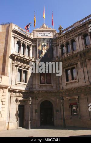 Museo de Cera Wax Museum Barcelona Spanien - Stockfoto
