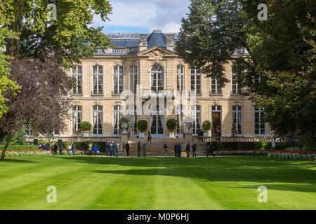 Frankreich, Paris, Tag des Denkmals 2017, Hotel de Matignon und im Amt des Ministerpräsidenten, den 3 Hektar großen - Stockfoto