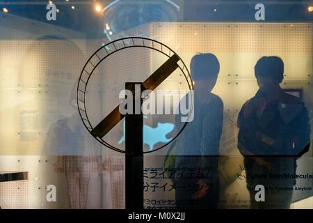 Japan, Honshu Island, Region Kanto, Tokio, Viertel Odaiba, National Museum der aufstrebenden Wissenschaft und Innovation - Stockfoto