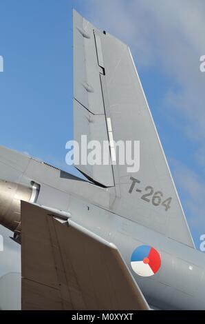 Royal Netherlands Air Force KDC-10 Extender Höhenleitwerk - Stockfoto