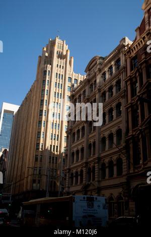 Gnade Gebäude york street central business Viertel Sydney New South Wales, Australien - Stockfoto