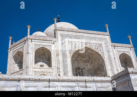 Das Taj Mahal, Agra, Indien - Stockfoto