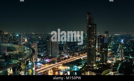 Skyline von Bangkok - Stockfoto