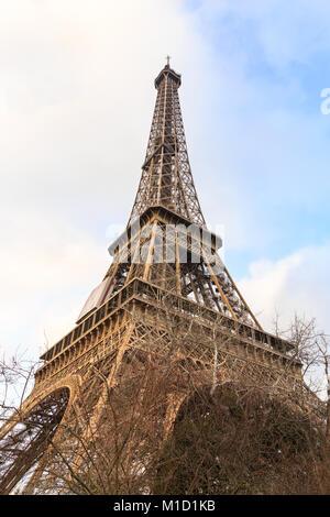 Paris, Frankreich, 27. Jan 2018. Überschwemmungen in Paris. Der Fluss Seine wurde erwartet, seinen Höhepunkt zwischen - Stockfoto