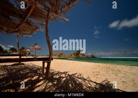 Kuta Beach, Lombok, West Nusa Tenggara, Indonesien - Stockfoto