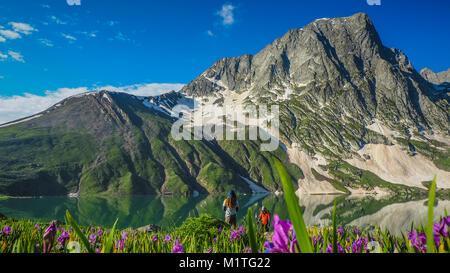 Schöne Berglandschaft der Sonamarg, Jammu und Kaschmir, Indien - Stockfoto